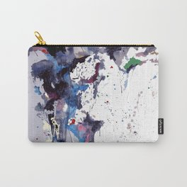Acyrlic meets digital Carry-All Pouch