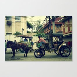 focus on the road ahead Canvas Print