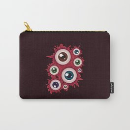 Spooky halloween bloody eyeballs Carry-All Pouch