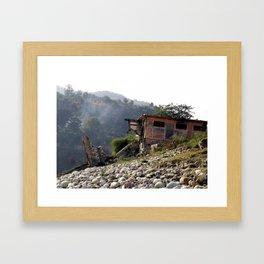 Tatapani, India Framed Art Print