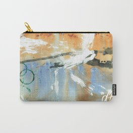 Spring Rain Carry-All Pouch