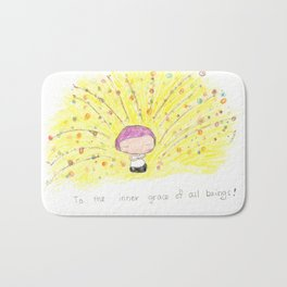 To the inner gace of all beings! Bath Mat