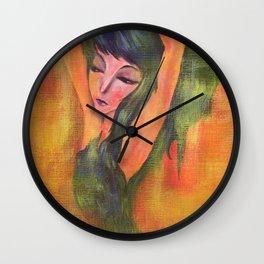 Dancing in Light Wall Clock