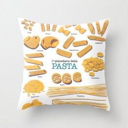 Pasta Throw Pillow