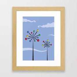 Tourne au vent Framed Art Print