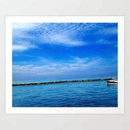 Water View at Newburyport, MA Art Print