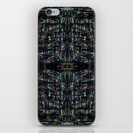 Green Lights At Night iPhone Skin