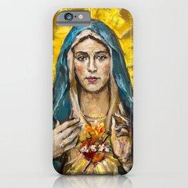 Cor Maria Sacratissimum iPhone Case