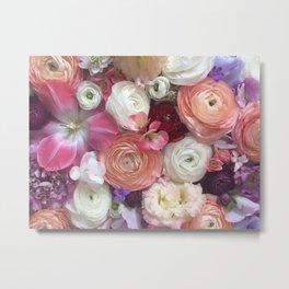 Flower Design 12 Metal Print