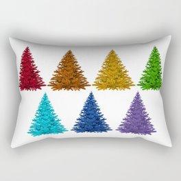 Christmas trees #society6 #decor #buyart Rectangular Pillow