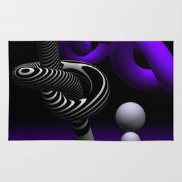 go violet -15- Rug