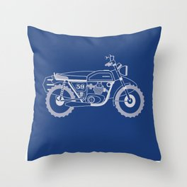 Wind to the Wave Throw Pillow