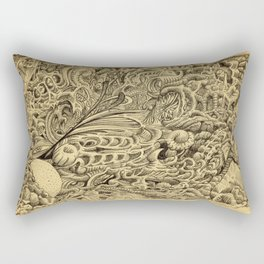 Sick Chamber by Brian Benson Rectangular Pillow