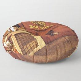 Sun Studios Memphis Floor Pillow