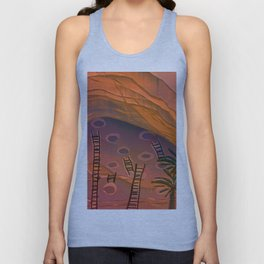 Ancestral Memories, Caves Unisex Tank Top