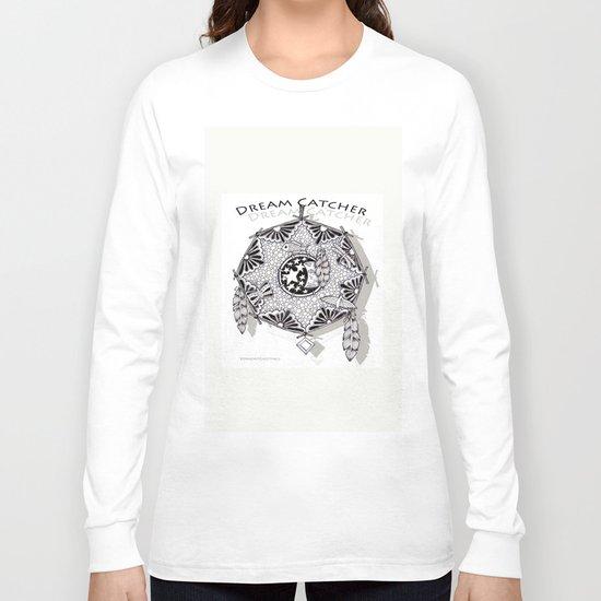 Zentangle Dreamcatcher Long Sleeve T-shirt