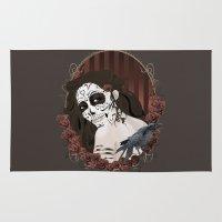 dia de los muertos Area & Throw Rugs featuring Dia de los Muertos by Kretly