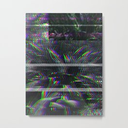 PlaNtS GLiTcH 5 Metal Print