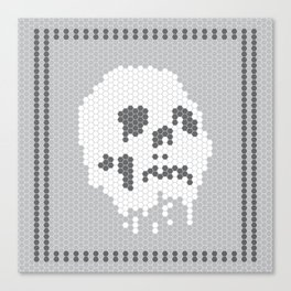 Skull Tile Canvas Print