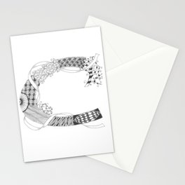 "Zenletter ""C"" Stationery Cards"