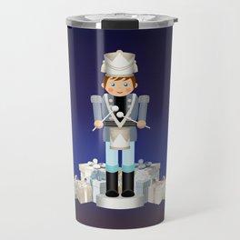 Little Drummer Boy on Christmas Eve Travel Mug
