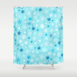 Let it snow! Shower Curtain