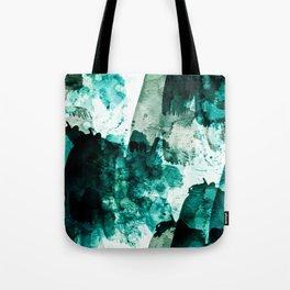 emerald & moss green Tote Bag