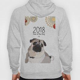 Year of the Dog - Pug Hoody