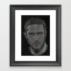 Tom Hardy Framed Art Print