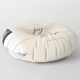 The Joy Floor Pillow