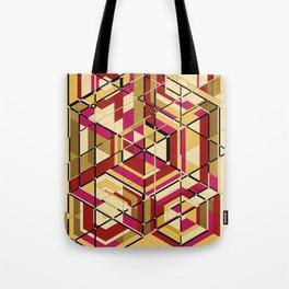 Hexagon No.2 Tote Bag