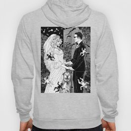 White Wedding Hoody