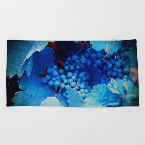 Grapes Beach Towel