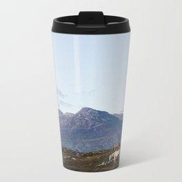 Connemara  - Horse and Mountains Metal Travel Mug