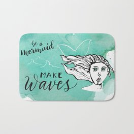 Make Waves Bath Mat