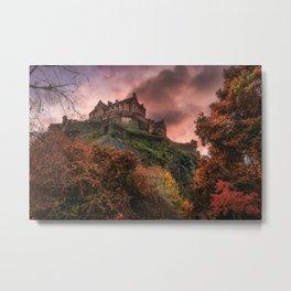 Edinburgh Blush Metal Print