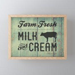 FARM FRESH Framed Mini Art Print