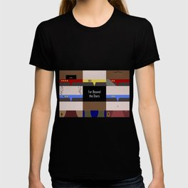 DS9 - Far Beyond the Stars - Minimalist Star Trek DS9 Deep Space Nine - startrek - Trektangles T-shirt