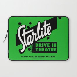 Starlite Drive In Green Laptop Sleeve