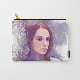 Purple Portrait Dream Carry-All Pouch