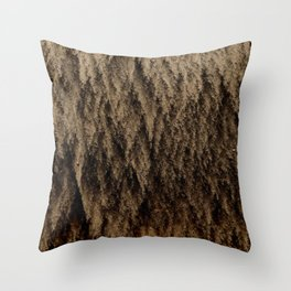 Shifting Sand Pattern  Throw Pillow