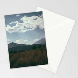 mono lake moon shine Stationery Cards