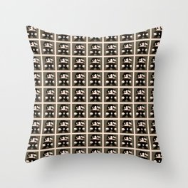 Gothic Mario Throw Pillow