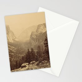 Yosemite Valley from Inspiration Point Stationery Cards