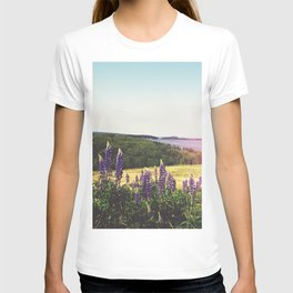 Lupine Flowers of the Maritimes T-shirt