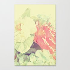 Simply Pastel Canvas Print
