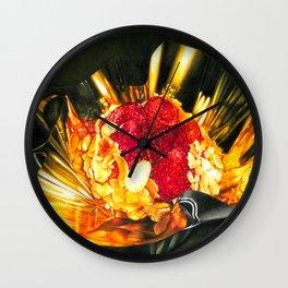 The Sweet Bloom Wall Clock