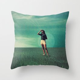 Loved the way You once looked upon Tomorrow Throw Pillow
