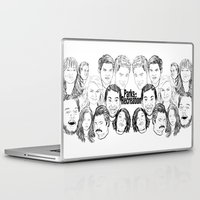 parks and rec Laptop & iPad Skins featuring Parks and Recreation 'Rec a Sketch' by Moremeknow