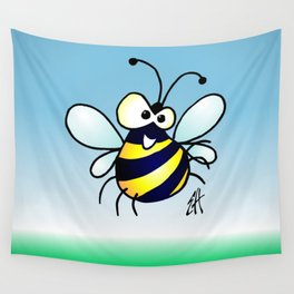 Bumbling Bee Wall Tapestry